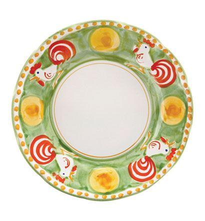 VIETRI Campagna Gallina Dinner Plate $42.00