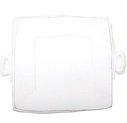 $134.00 Handled Square Platter