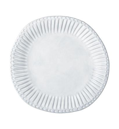 Vietri Incanto White Stripe Dinner Plate $50.00