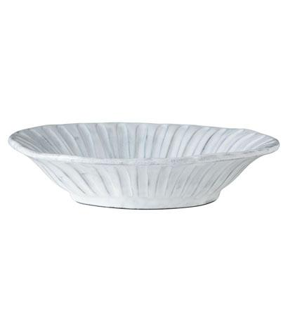 Vietri Incanto White Stripe Bowl $46.00
