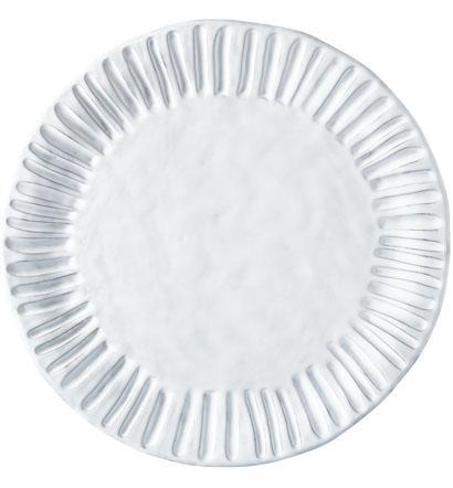 Vietri Incanto White Stripe Service Plate/Charger $87.00