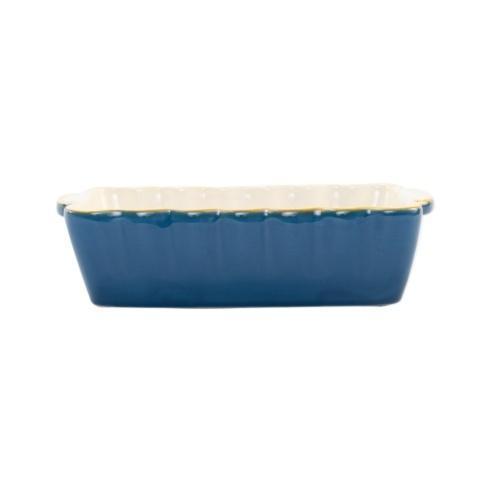 VIETRI  Italian Bakers Blue Small Rectangular Baker $35.00