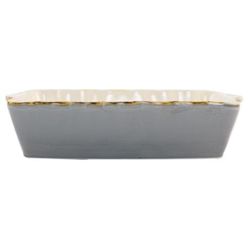 VIETRI  Italian Bakers Gray Large Rectangular Baker $45.00