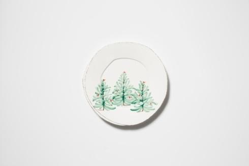 VIETRI Lastra Holiday European Dinner Plate $44.00