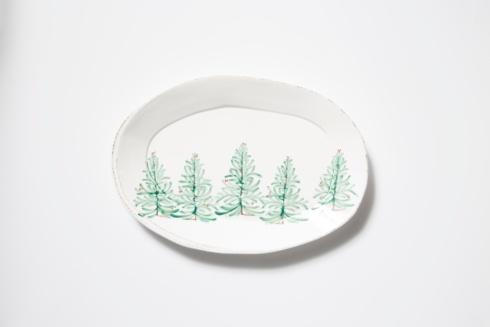 Vietri Lastra Holiday Oval Platter $140.00