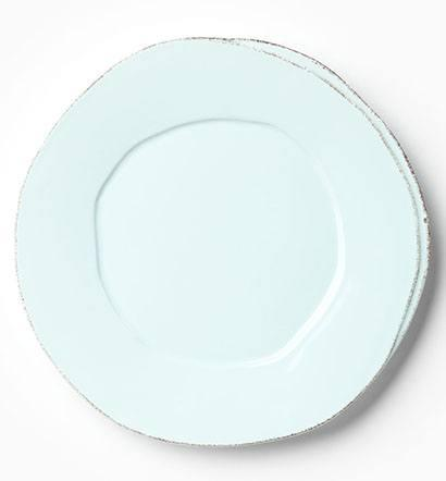 Vietri Lastra Aqua Dinner Plate $40.00