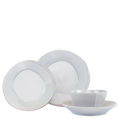 $146.00 Light Gray Four-Piece Place Setting