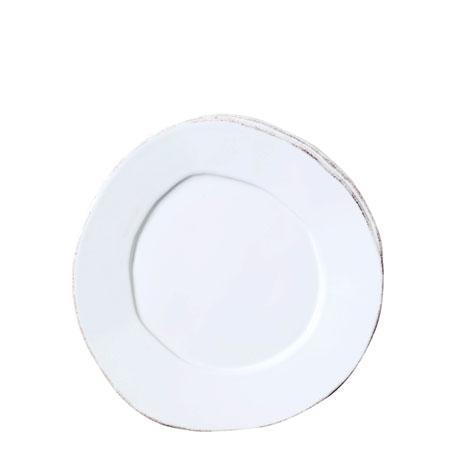 Vietri Lastra White Salad Plate $36.00