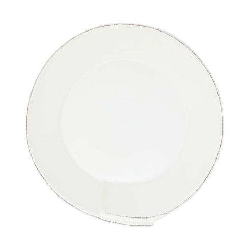 VIETRI Lastra White Medium Shallow Serving Bowl $70.00