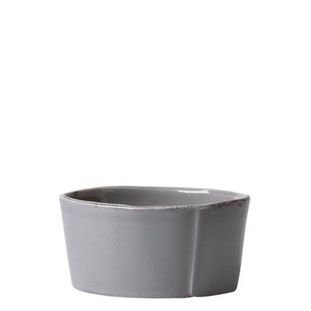 Vietri Lastra Gray Condiment Bowl $23.00