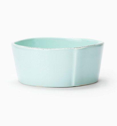 Vietri Lastra Aqua Cereal Bowl $36.00