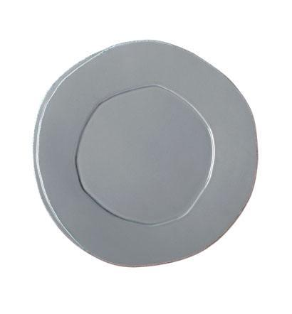 Vietri Lastra Gray European Dinner Plate $38.00