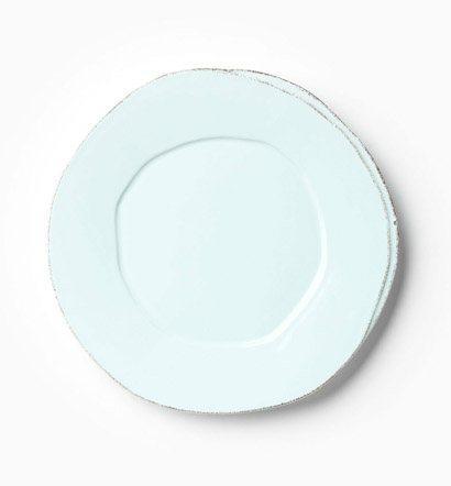 Vietri Lastra Aqua European Dinner Plate $38.00
