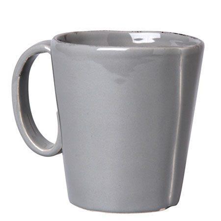 Vietri Lastra Gray Mug $39.00