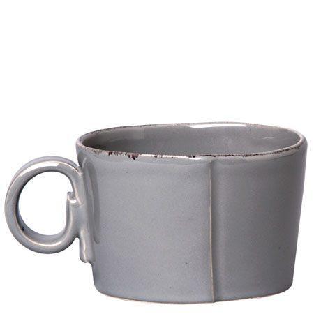 VIETRI Lastra Gray Jumbo Cup $43.00
