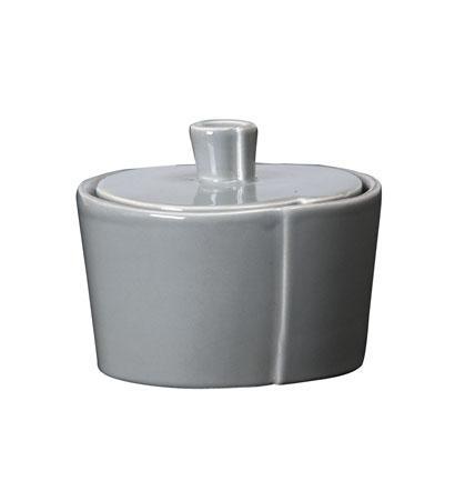Vietri Lastra Gray Sugar Bowl $48.00