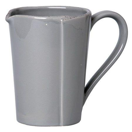 Vietri Lastra Gray Pitcher $95.00