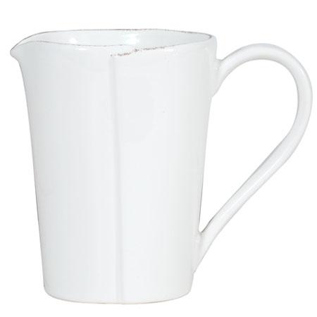 Vietri Lastra White Pitcher $95.00