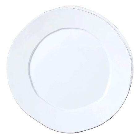 Vietri Lastra White Round Platter $121.00