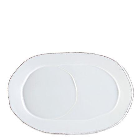 VIETRI Lastra White Oval Tray $35.00