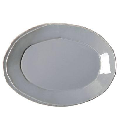 Vietri Lastra Gray Small Oval Platter $56.00