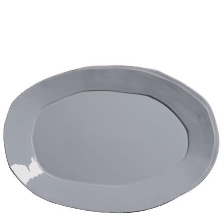 Vietri Lastra Gray Oval Platter $138.00