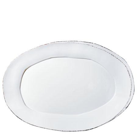Vietri Lastra White Oval Platter $138.00