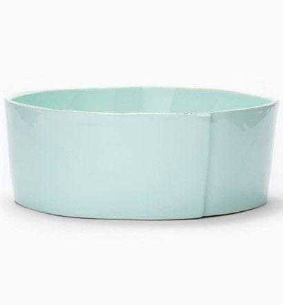 Vietri Lastra Aqua Lastra Aqua Large Serving Bowl $114.00