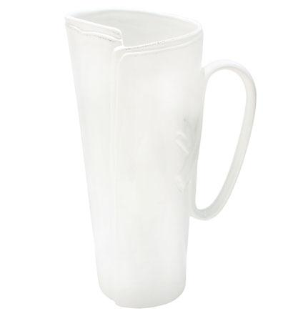 VIETRI Lastra White Tavern Pitcher $177.00