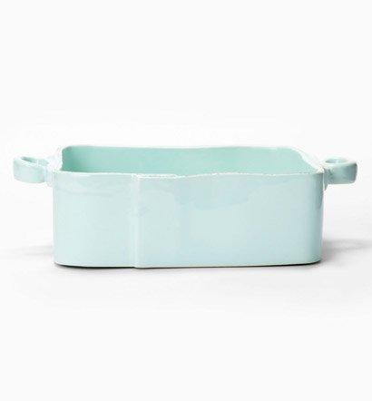 Vietri Lastra Aqua Square Baker $132.00