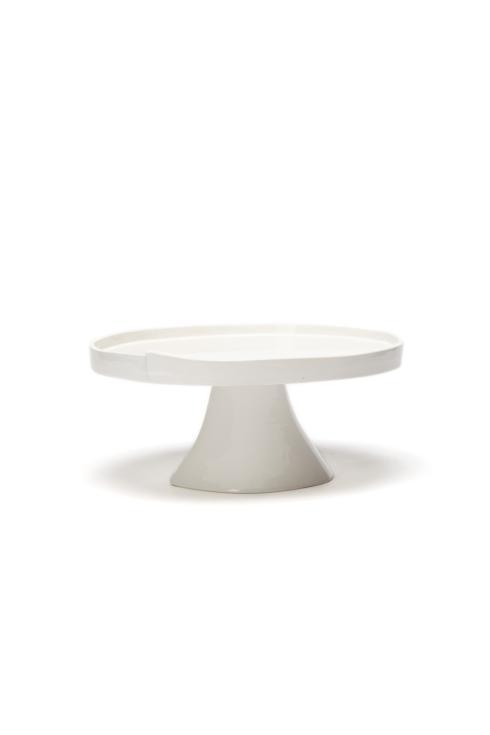 VIETRI Lastra White Large Cake Stand $129.00