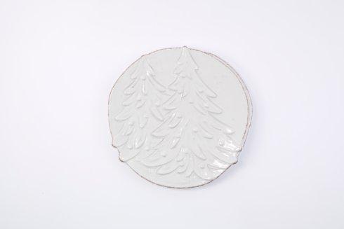Vietri Lastra Holiday Winterland Round Platter $122.00