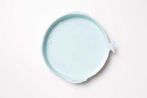 Aqua Round Platter