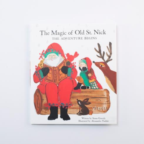 VIETRI  Old St. Nick The Magic of Old St. Nick: The Adventure Begins Children\'s Book $19.95