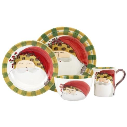 $198.00 Animal Hat Four-Piece Place Setting