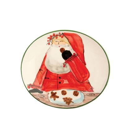 VIETRI  Old St. Nick Cookie Plate $72.00