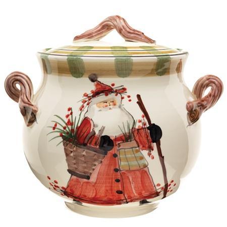 Vietri  Old St. Nick Biscotti Jar $236.00
