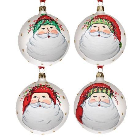Vietri  Old St. Nick Asst Ornament $128.00