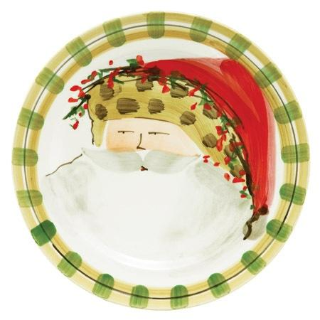 Vietri  Old St. Nick Dinner Plate - Animal Hat $58.00