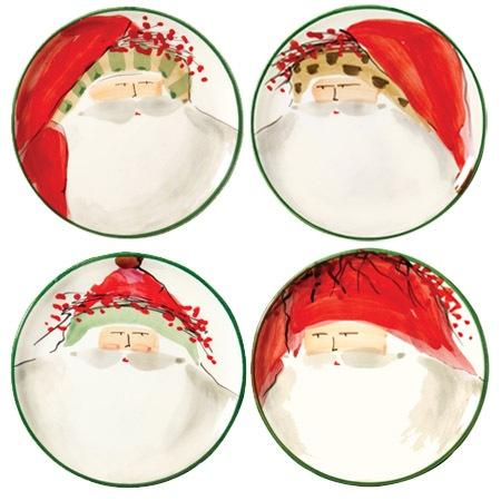 Assorted Canape Plates - Set of 4 image