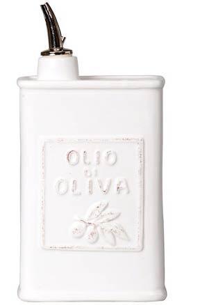 Vietri Lastra White Olive Oil Can $54.00