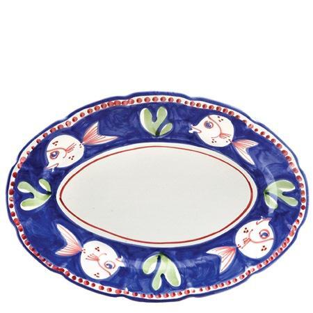 VIETRI Campagna Pesce Oval Platter $199.00
