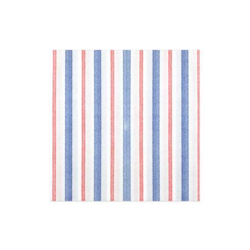 $15.00 Americana Stripe Guest Towels (Pack of 20)