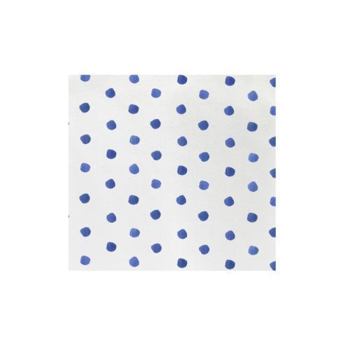 $15.00 Blue Dot Dinner Napkins (Pack of 20)
