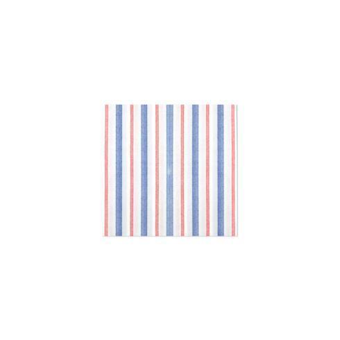 $8.00 Americana Stripe Cocktail Napkins (Pack of 20)