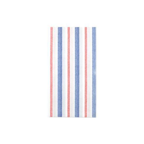 $15.00 Americana Stripe Dinner Napkins (Pack of 20)