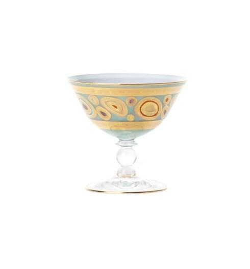 VIETRI  Regalia Aqua Dessert Bowl $74.00