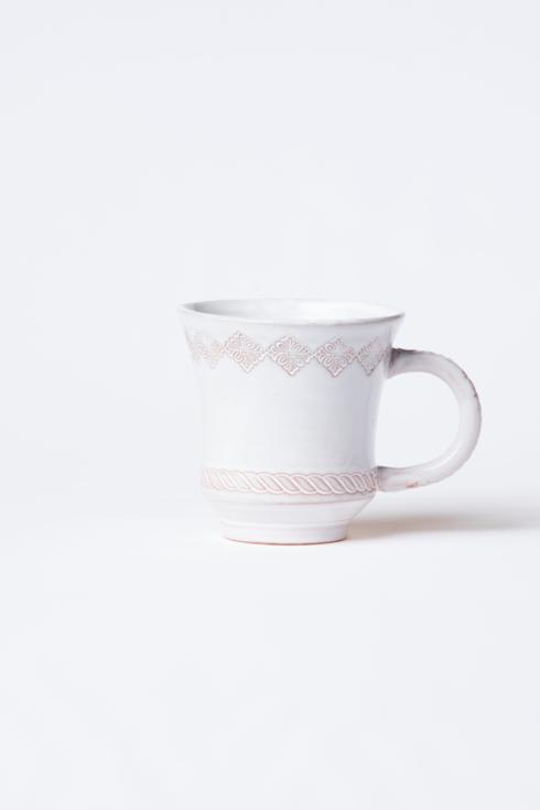 Vietri  Bellezza Stone White Mug $38.00