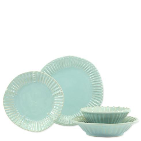 $180.00 Stripe Four-Piece Place Setting