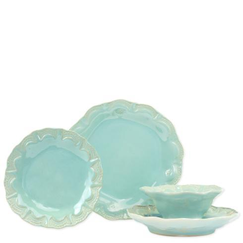 $198.00 Lace Four-Piece Place Setting